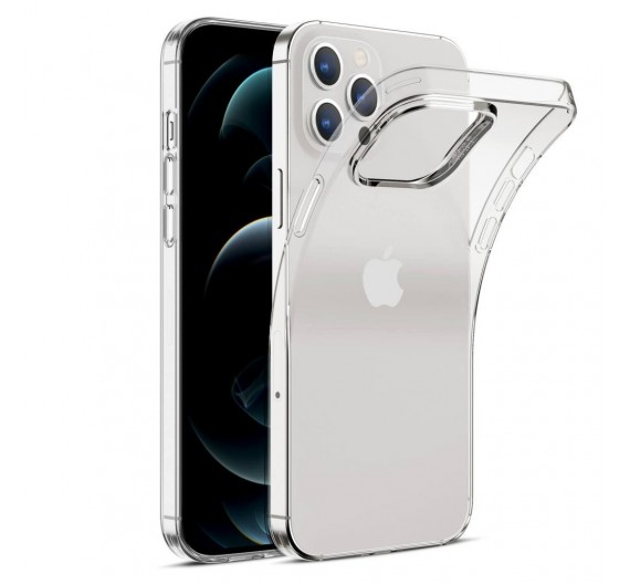 Cover slim case Iphone 12 Pro Max trasparente