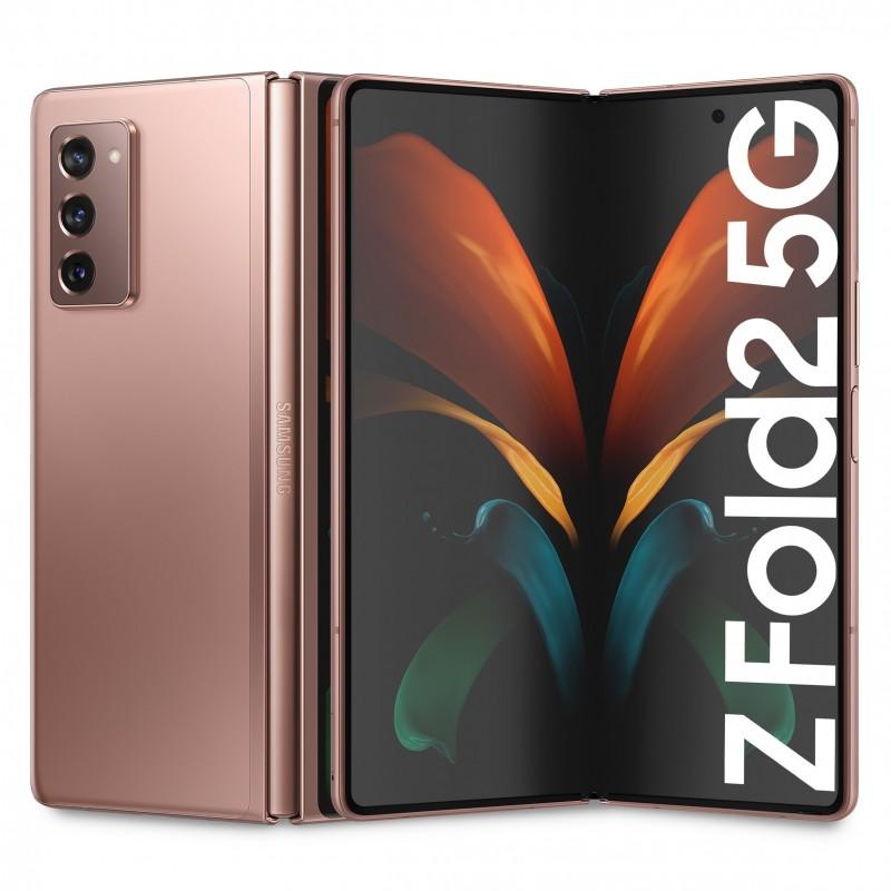 Samsung Z Fold 2 F916 5G 256GB RAM 12GB Bronzo Europa