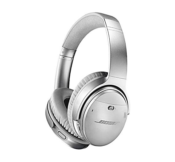 BOSE Noise Cancelling Headphones QC 35 II Silver