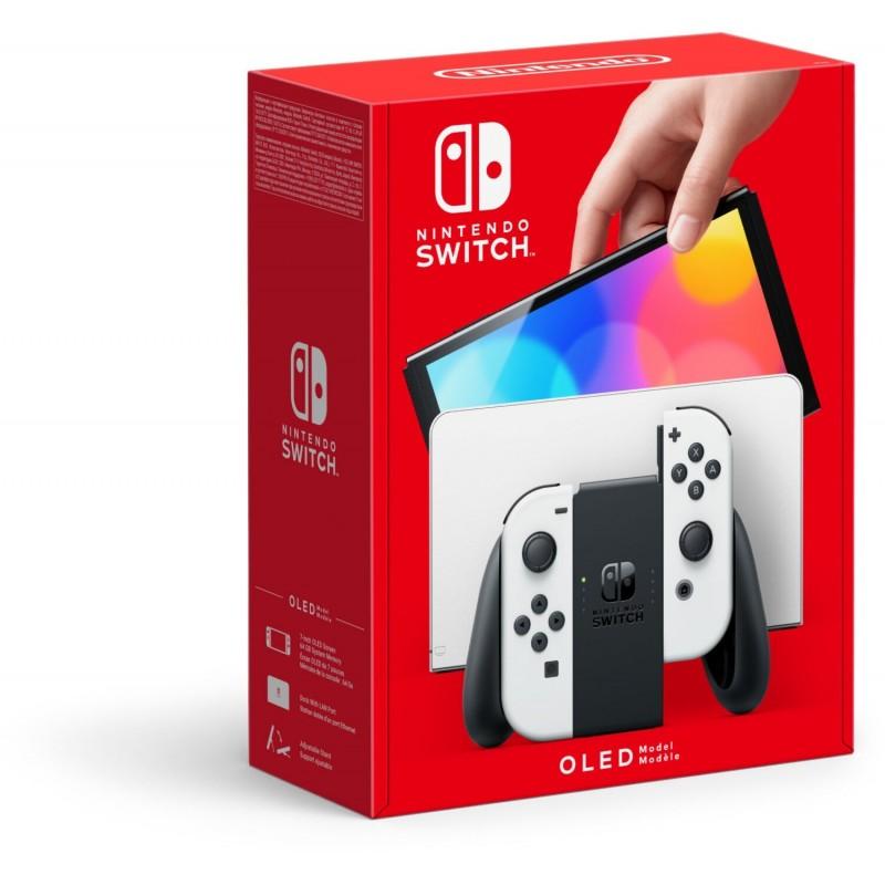 Nintendo Switch OLED WHITE+BRAIN TRAINING+ZELDA SKYWARD SWORD+JOY-CON ZELDA S.S.