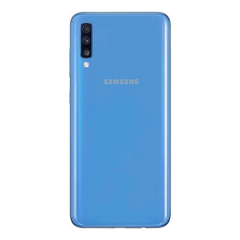 Samsung Galaxy A70 SM-A705F 128GB Dual Sim Blue Brand Operatore Italia
