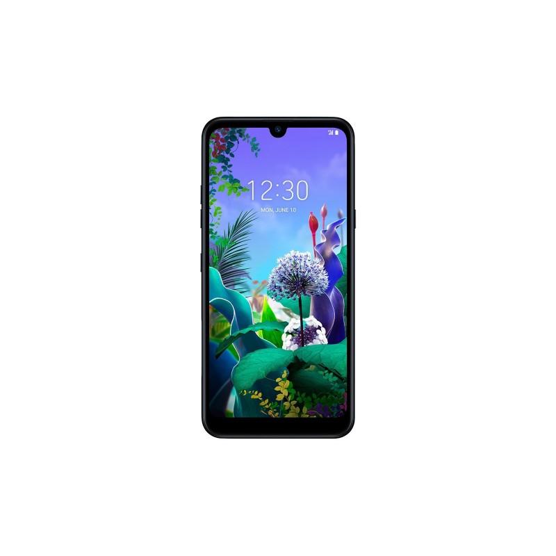 LG Q60  64GB Aurora Black Dual Sim Italia