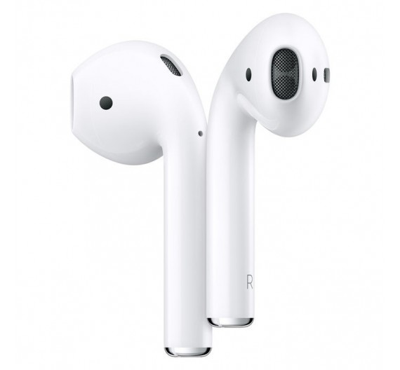 Apple Airpods 2019 with Wireless Charhing Case White Europa