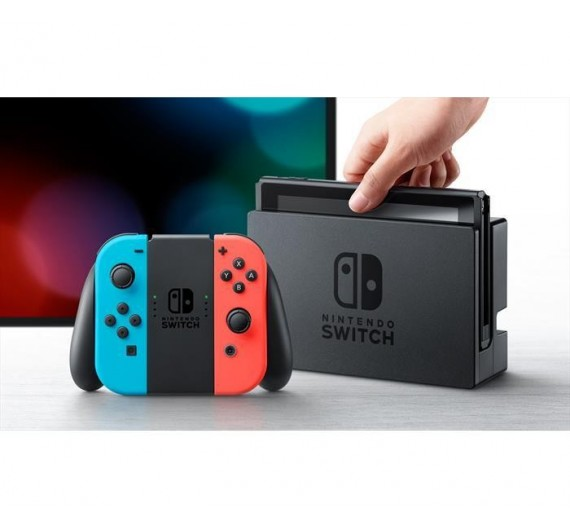 Nintendo Switch 1.1  Neon Blue / Neon Red Italia