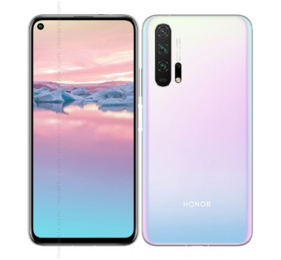 Honor 20 Pro Dual Sim 256GB Icelandic Frost Europa