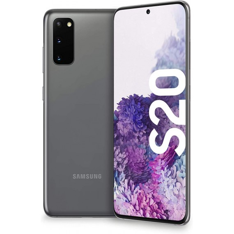Samsung Galaxy S20 G981B 5G 12GB 128GB Dual Sim Grey Brand Operatore Italia