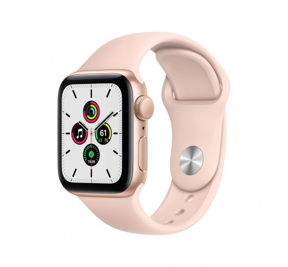 Watch Apple Watch SE GPS 44mm Oro Aluminum Case with Sport Band Rosa Europa