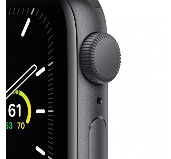 Watch Apple Watch SE GPS 44mm Grey Aluminum Case with Sport Band Black Europa