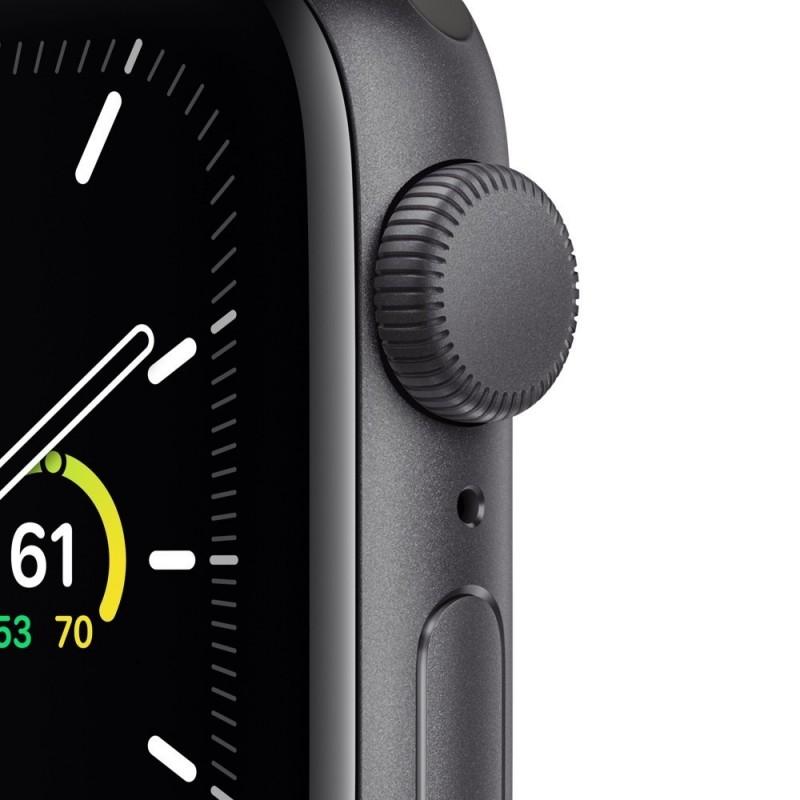 Watch Apple Watch SE GPS 44mm Grigio Aluminum Case with Sport Band Nero Europa