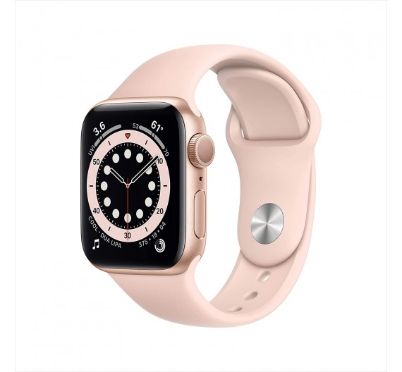 Watch Apple Watch Series 6 GPS 40mm Gold Aluminum Case with Sport Band Pink Sand Europa