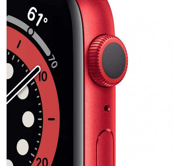 Watch Apple Watch Series 6 GPS 40mm Red Aluminum Case with Sport Band Red Europa