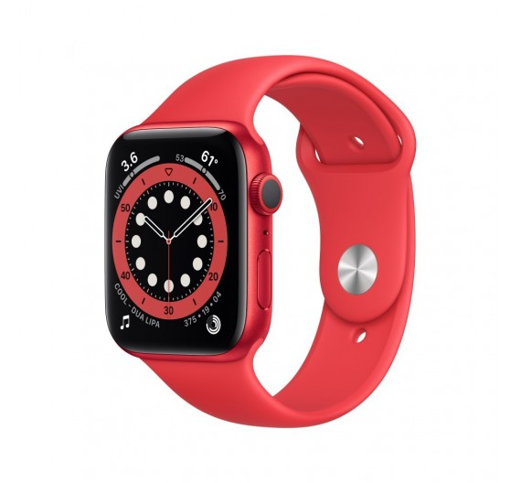 Watch Apple Watch Series 6 GPS 40mm Rosso Aluminum Case with Sport Band Rosso Europa
