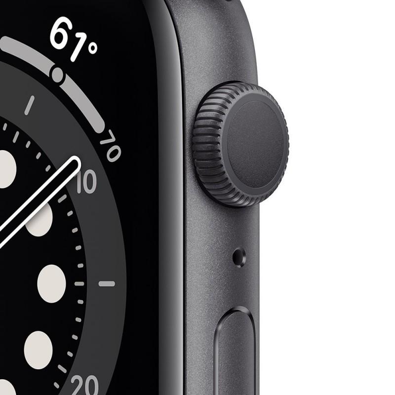 Watch Apple Watch Series 6 GPS 44mm Grigio Aluminum Case with Sport Band Nero Europa