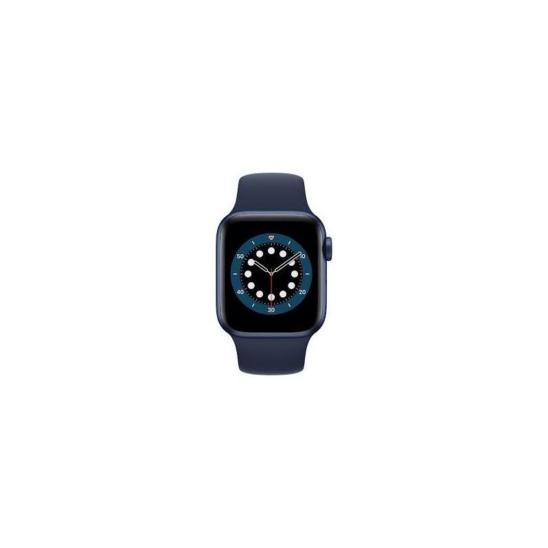 Watch Apple Watch Series 6 GPS 44mm Blu Aluminum Case with Sport Band Blu Europa