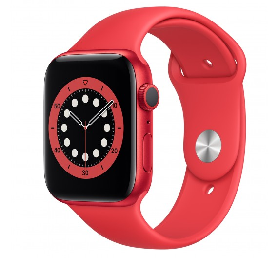 Watch Apple Watch Series 6 GPS 44mm Rosso Aluminum Case with Sport Band  Europa