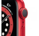 Watch Apple Watch Series 6 GPS 44mm Rosso Aluminum Case with Sport Band Rosso Europa